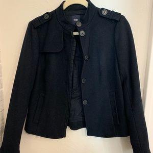 Black Gap Button Up Jacket